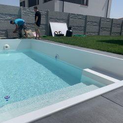 Bazeny bauer osadenie bazena zahrada rodinny dom